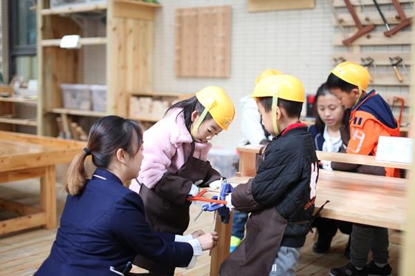 温江鱼凫双语幼儿园&光华新城幼儿园开展标准化管理区